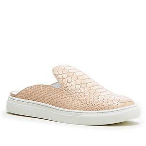 Sole Society Belynda slip-on sneaker bisque python